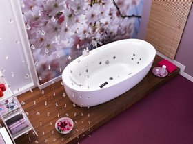 овальная гидромассажная ванна