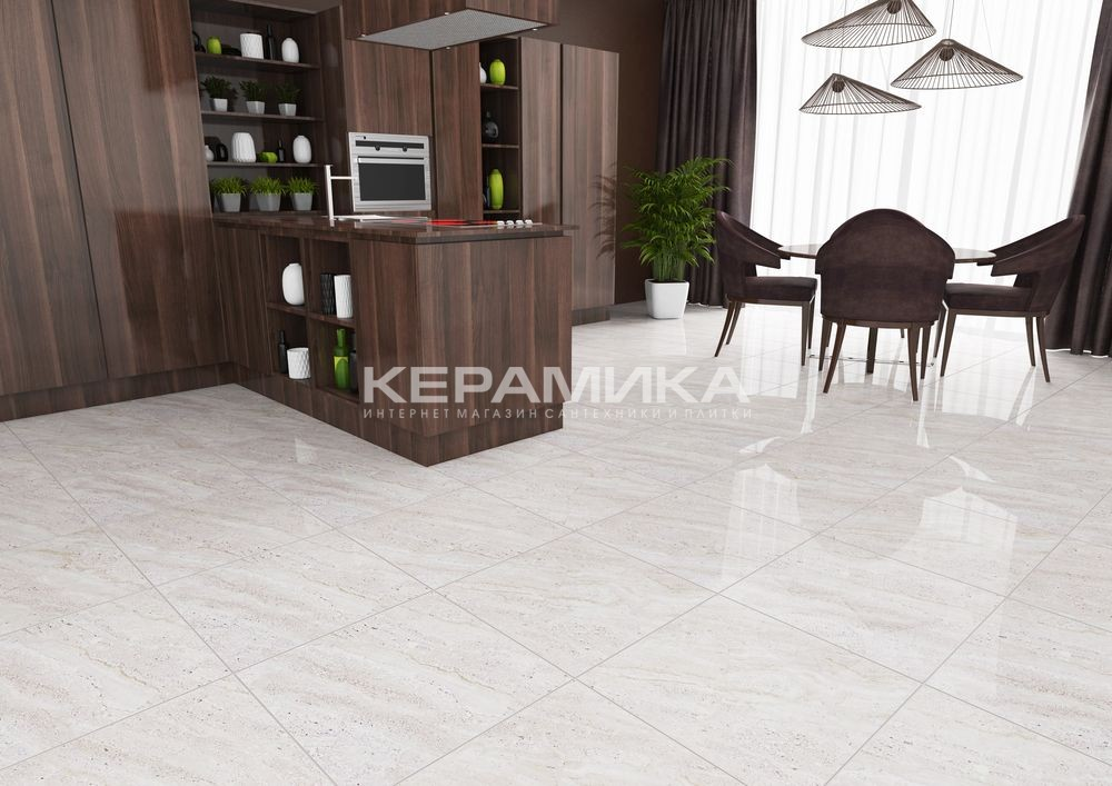 Керамогранит TRAVERTINO BEIGE ALMERA CERAMICS