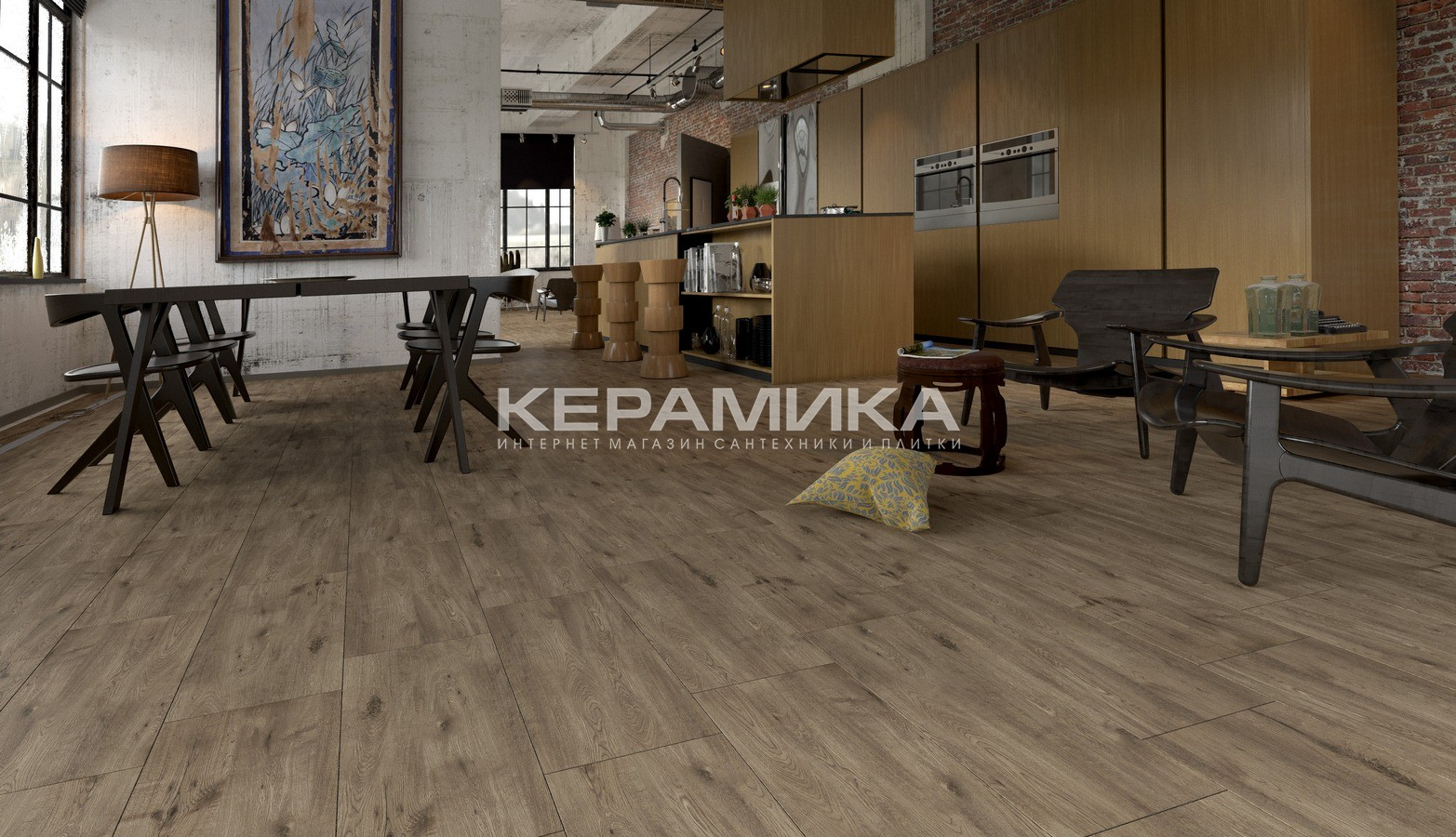 Керамогранит ALPINA WOOD GOLDEN TILE