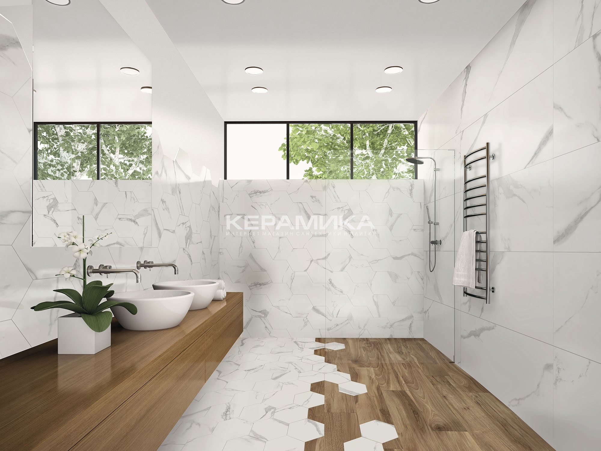 Керамогранит WHITE SOUL ITT CERAMIC